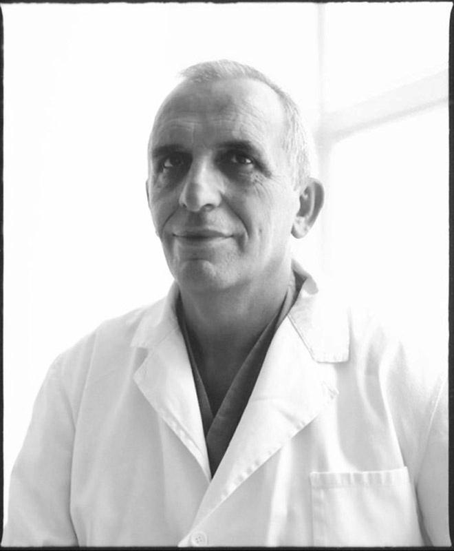 Prof. Osman Sejfija, Director of Departement of Maxillofaciale Surgery, Univ. of Prishtina