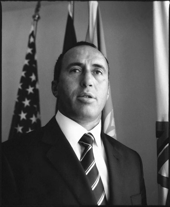Ramush Haradinaj, President of Party Alliance for Future of Kossovo, Prishtina 2008