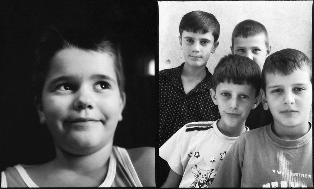 Genc and boys, Prishtina and Gllogjan, Gjakova, Kossovo