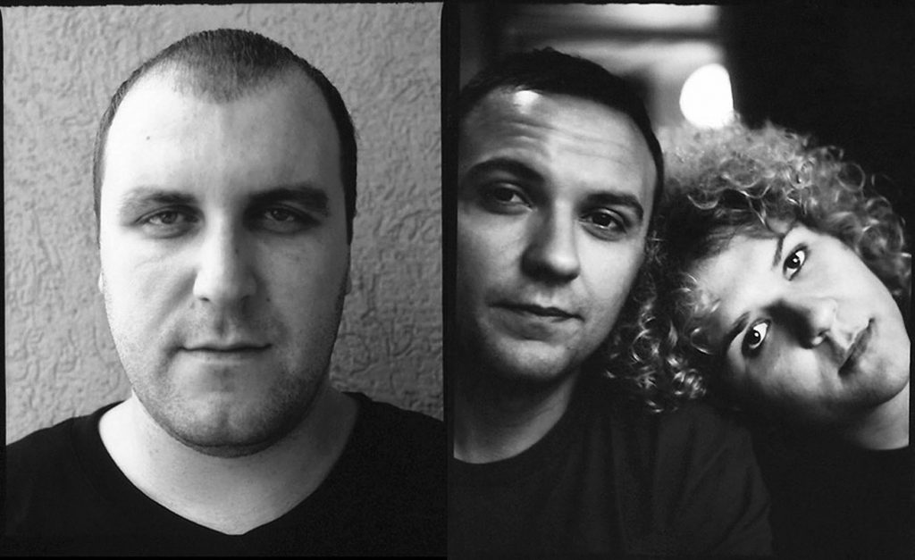 Luan, Artor and Zana, Prishtina, 2008