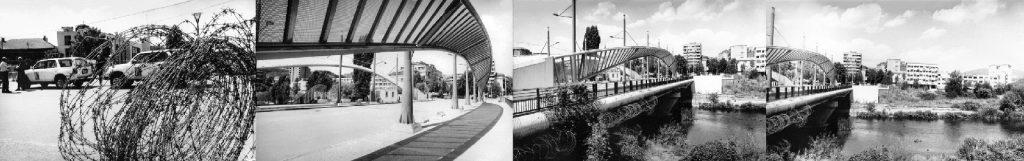 The bridge, Mitrovita, 2008